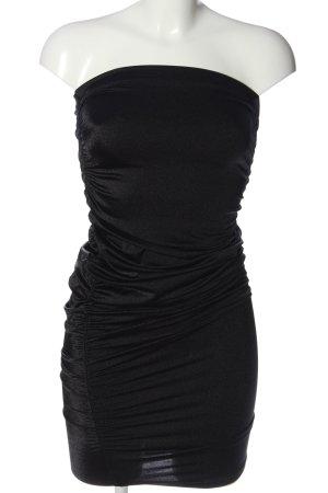 Wolford schulterfreies Kleid schwarz Elegant