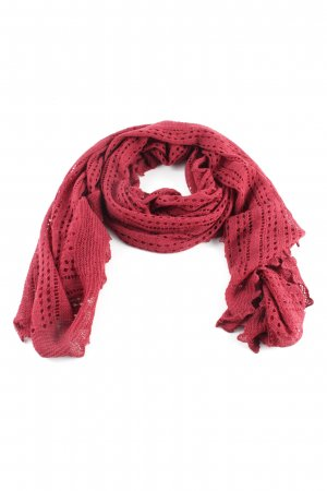 Wolford Shoulder Scarf red graphic pattern casual look