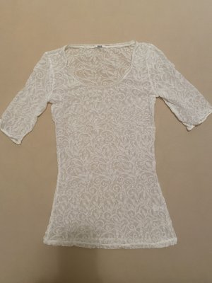 Wolford Camisa tipo túnica blanco