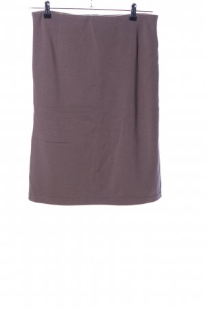 Wolford Strickrock lila Casual-Look