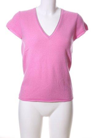 Wolford Strickshirt pink Casual-Look