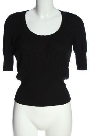 Wolford T-shirts en mailles tricotées noir style décontracté