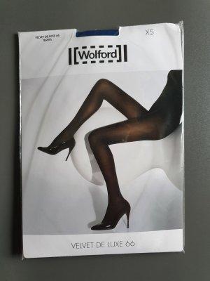 Wolford Strumpfhose Velvet de Luxe 66 in der Farbe marlin