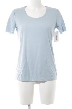 Wolford T-Shirt babyblau Casual-Look