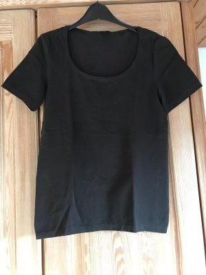 Wolford Koszulka basic ciemnobrązowy