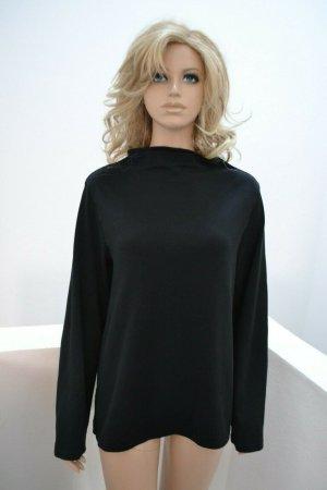 Wolford Viskose Pull Pullover Minikleid Mini Dress black schwarz Small