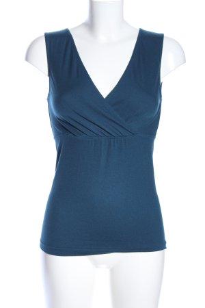Wolford Maglietta aderente blu stile casual