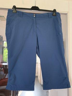 Jack Wolfskin Pantalone a 3/4 blu acciaio Poliammide