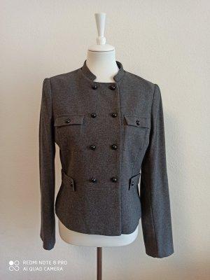 H&M Blazer in lana grigio scuro