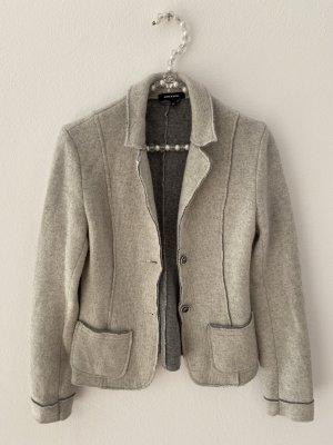 More & More Blazer in lana grigio chiaro
