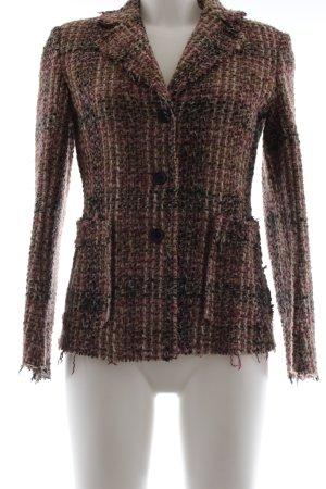 Blazer Tweed multicolor tejido mezclado