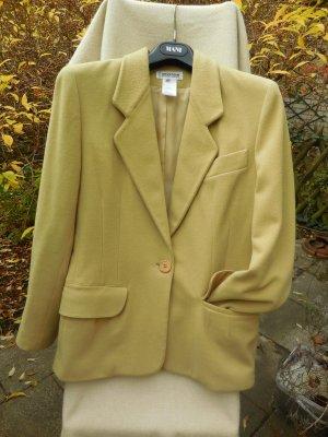Georges Rech Blazer in lana giallo chiaro Lana