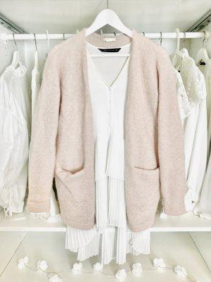 H&M Wełniany sweter Wielokolorowy Moher