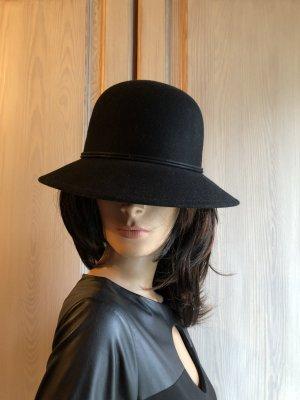 C&A Woolen Hat black wool