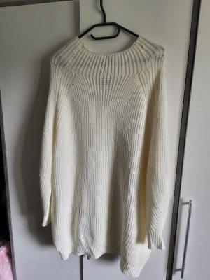 Sheinside Vestito di lana bianco sporco