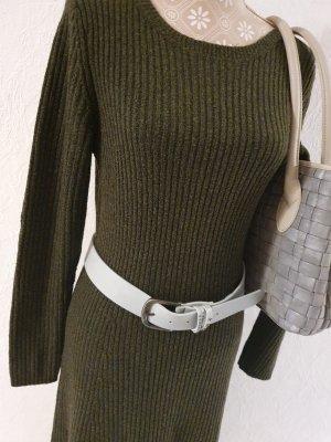 Rachel Zoe Woolen Dress green grey