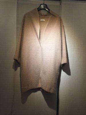 heart Cappotto in lana rosa antico