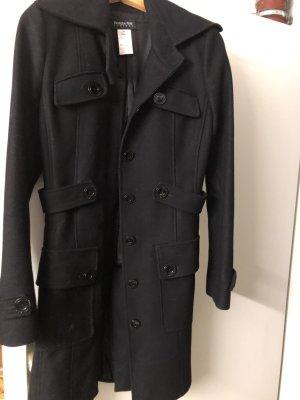 Patrizia Pepe Cappotto in lana nero