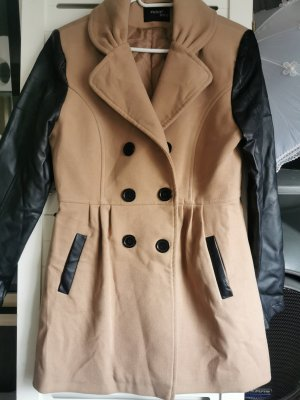Robin Coat Dress black-light brown