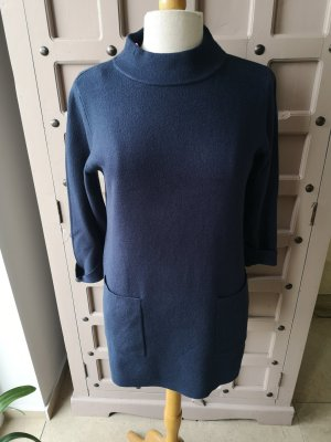 Long Sweater dark blue