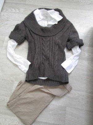 Woll-Pullover / mit Alpaca Wolle / Weste Gr. S 36/38 - Neu