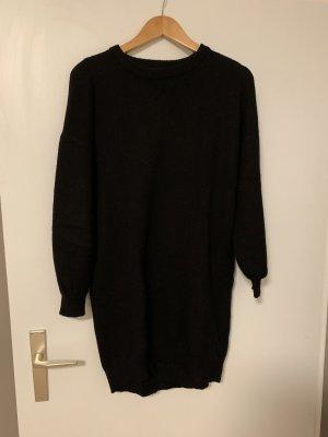Woll Pullover Schwarz Bik Bok