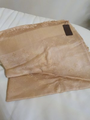 1 NY tee Woolen Scarf gold-colored-nude