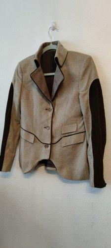 Circle of Gentlemen Wool Blazer dark brown-beige