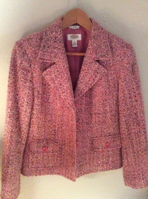 Blazer in lana multicolore Tessuto misto