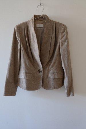 ae elegance Blazer de lana camel-beige