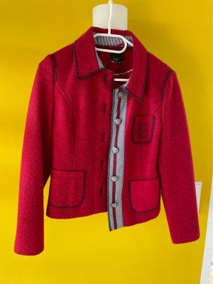 Wollblazer rot wunderschön Gr.S