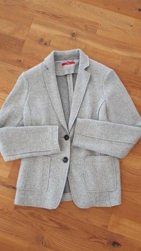 s.Oliver Blazer in lana grigio chiaro