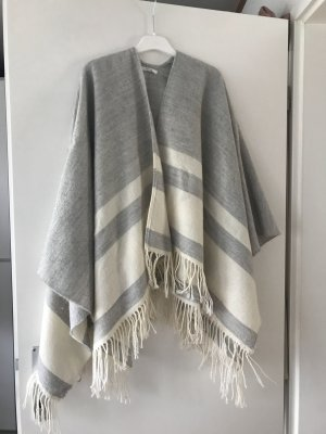 Opus Scarf natural white-light grey