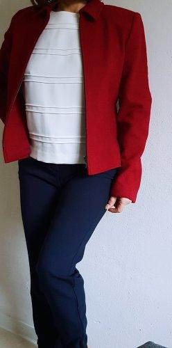 Viventy Blazer in lana rosso scuro-carminio