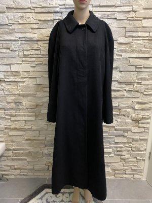 Burberrys' Wełniany płaszcz czarny