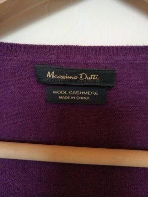 Wolle Cashmere Pullover von Massimo Dutti