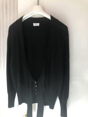 ae elegance Veste en tricot noir