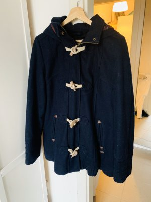 Review Wool Coat blue-dark blue