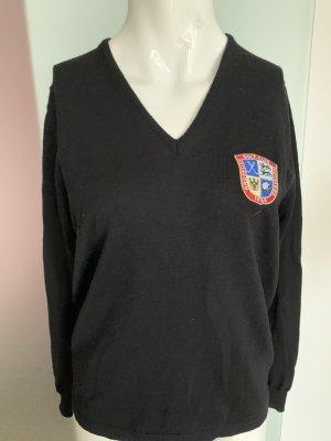 Maglione di lana nero