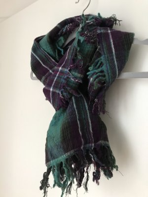 Mexx Fringed Scarf multicolored