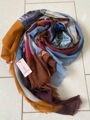 Beck Söndergaard Bufanda de lana multicolor