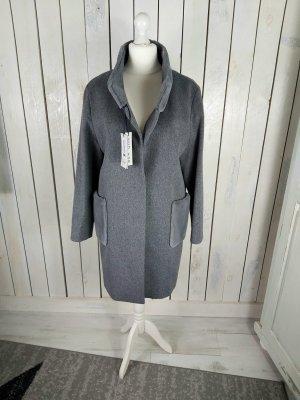 Wolle Wintermantel Cinzia Rocca Grösse 42/XL grau Neuware
