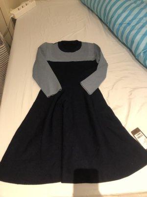 unknown Woolen Dress dark blue-azure
