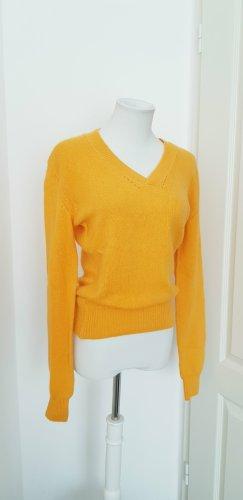 North sails Wool Sweater gold orange angora wool