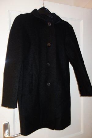 Wollfilzjacke schwarz