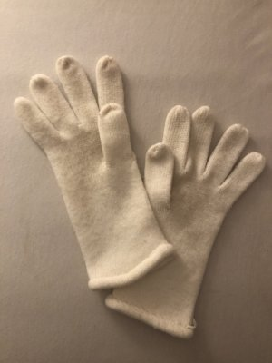 Knitted Gloves white