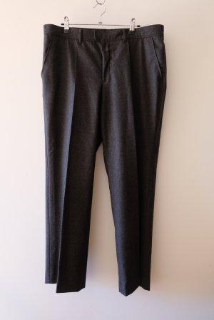 Bogner Pantalón de lana gris antracita Lana