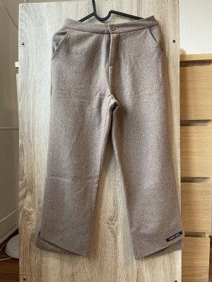 unbekannte Woolen Trousers beige