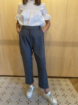 And Less Pantalone di lana grigio scuro