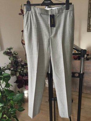 Polo Ralph Lauren Woolen Trousers natural white-grey wool